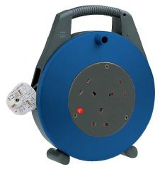 BRENNENSTUHL 1108563  Cable Reel,Vario,13A 3 Way,10M & Cutout